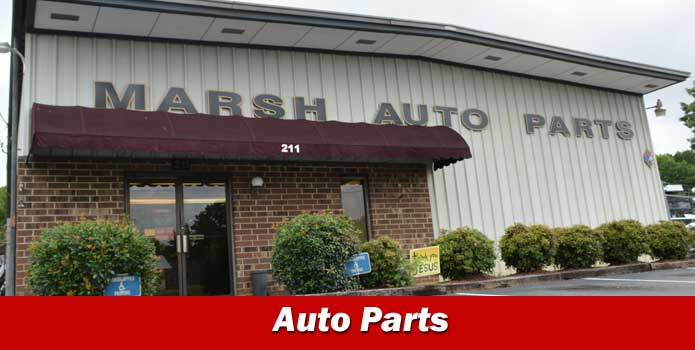 Auto Parts Sales Locations NC